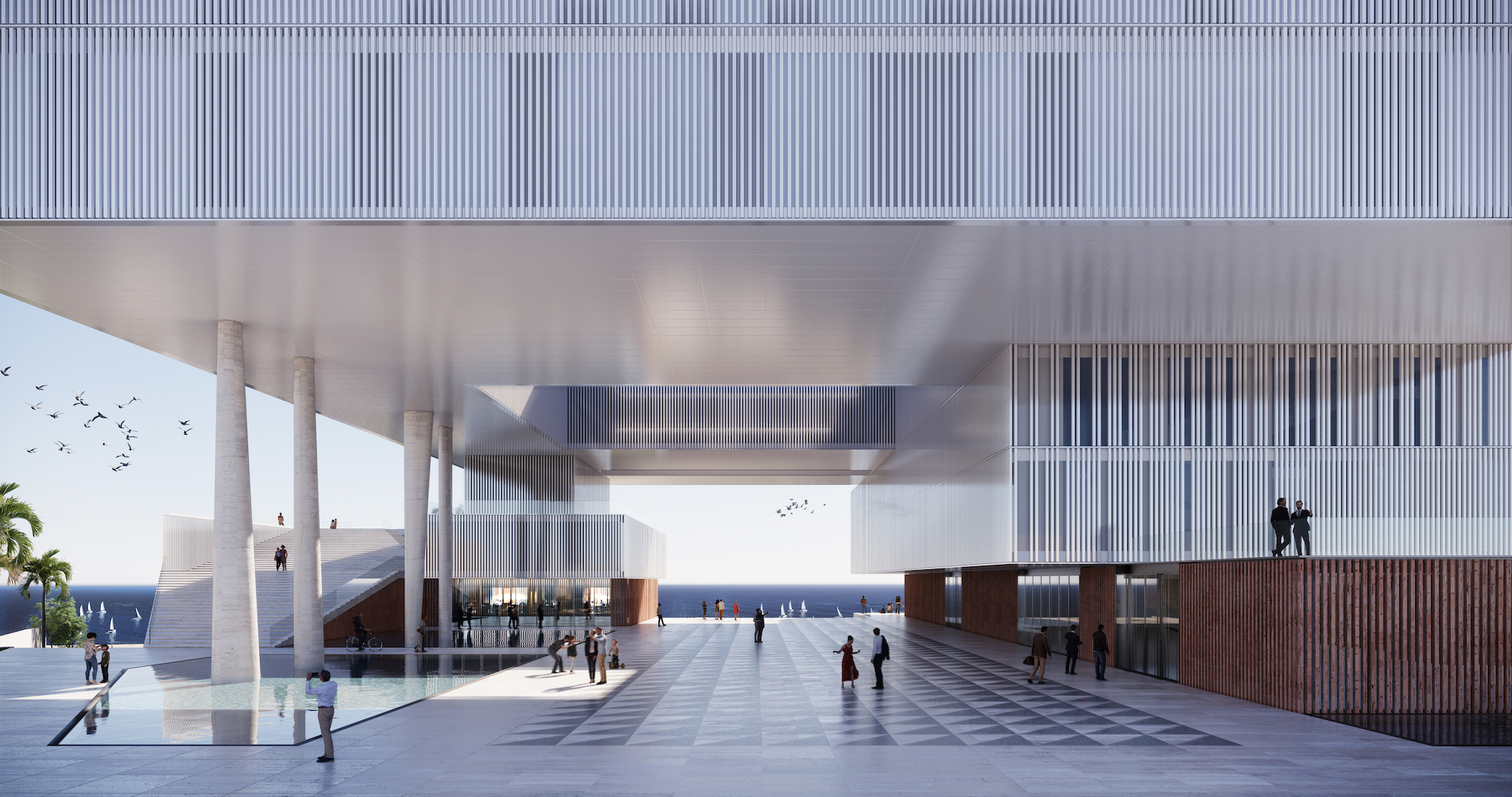 Stancanelli Russo Associati al primo posto nel concorso di progettazione della cittadella giudiziaria di Catania