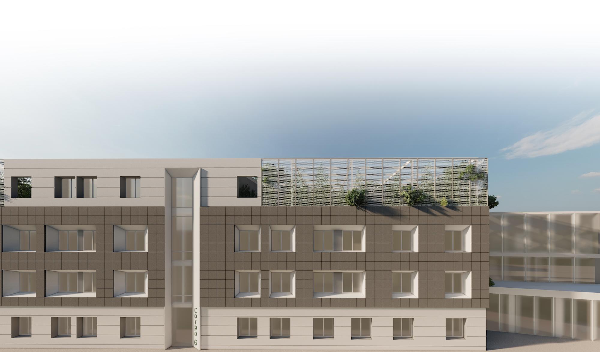 Nuovo padiglione G dell'ospedale di Caserta: un edificio nZEB progettato da Stancanelli Russo Associati